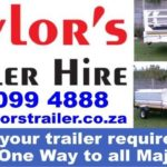 Trailer Hire – Local AND One Way